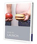 Apple Vs Burger Presentation Folder