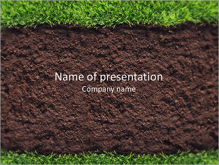 Rich soil powerpoint template backgrounds id 0000007139 rich soil powerpoint templates toneelgroepblik