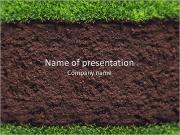 Zengin Toprak PowerPoint sunum şablonları