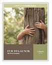 Hug Tree Word Template
