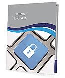 Lock Button Presentation Folder