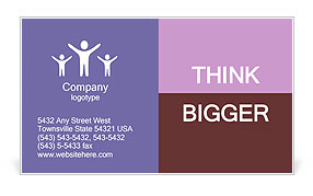 Freedom Spirit Business Card Template