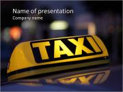 Taxi PowerPoint Templates
