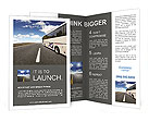 Travelling By Bus Brochure Templates