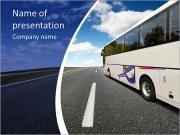 Travelling By Bus PowerPoint Templates