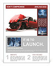Car Crash Flyer Template