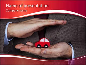 Voiture de sécurité Modèles des présentations  PowerPoint
