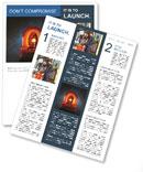 Ambulance Light Newsletter Template