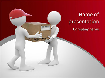 Parcel Delivery PowerPoint Template