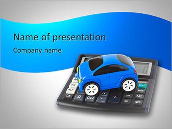 Budget Auto Modèles des présentations  PowerPoint