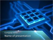 Built–In Chip PowerPoint Templates
