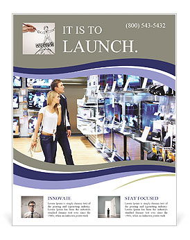Electronic Shop Flyer Template Design ID - Electronic flyers templates