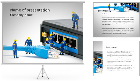 powerpoint it templates. swot analysis powerpoint template. free, Powerpoint