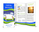 Green View Brochure Templates