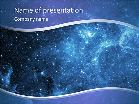 Star Sky Powerpoint Template Backgrounds Google Slides Id