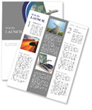 Means Of Transport Newsletter Templates
