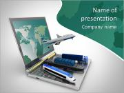 Transportmedel PowerPoint presentationsmallar