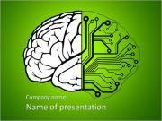Запрограммированный мозг Шаблоны презентаций PowerPoint