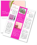 Baby's Bed Newsletter Templates