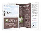 Birds Migration Brochure Templates