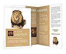 Lion Brochure Templates