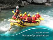 Rafting PowerPoint Templates