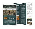 Dried Land Brochure Templates