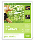 Jogging In Summer Poster Templates