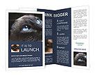 Black Cat Brochure Templates