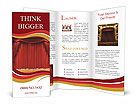 Red Stage Brochure Templates