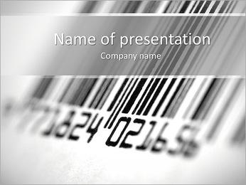 Barcode PowerPoint Template - Slide 1