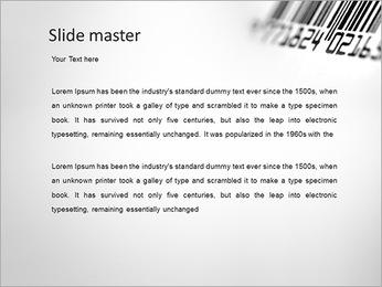 Barcode PowerPoint Template - Slide 2