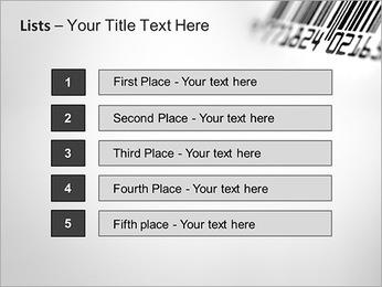 Barcode PowerPoint Template - Slide 3