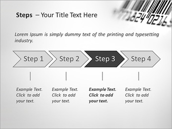 Barcode PowerPoint Template - Slide 4