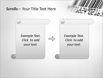Barcode PowerPoint Template - Slide 54