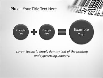 Barcode PowerPoint Template - Slide 55