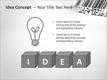 Barcode PowerPoint Template - Slide 60