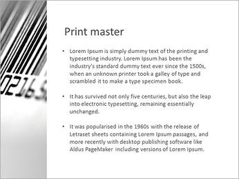 Barcode PowerPoint Template - Slide 76