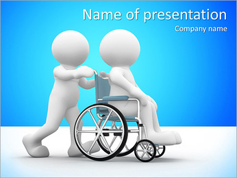 Social Worker PowerPoint Template