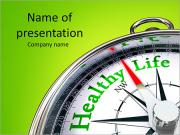 Healthy Life PowerPoint Templates