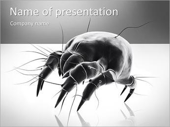 Black Spy PowerPoint Template