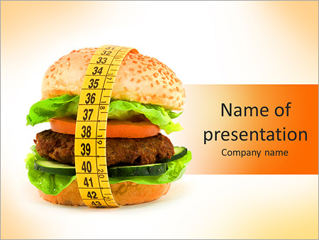 Fast Food Powerpoint Template Backgrounds Id 0000007250