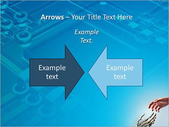 Human Vs Robot PowerPoint Template - Slide 70