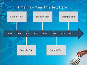 Human Vs Robot PowerPoint Template - Slide 8