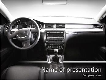 A l'intérieur de voitures Modèles des présentations  PowerPoint