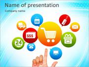 On-Line Shop PowerPoint Templates