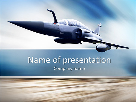 Fighter plane powerpoint template backgrounds id 0000007263 fighter plane powerpoint templates toneelgroepblik Images