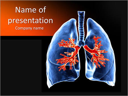Human biology powerpoint templates backgrounds google slides lungs powerpoint template toneelgroepblik Gallery