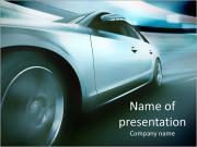 Fast Car Modèles des présentations  PowerPoint