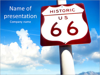 Street Name PowerPoint Template